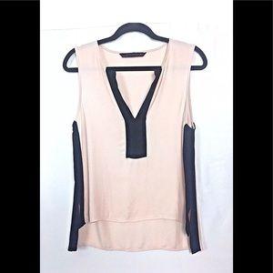 Zara Women's Pink Top Blouse SZ Small